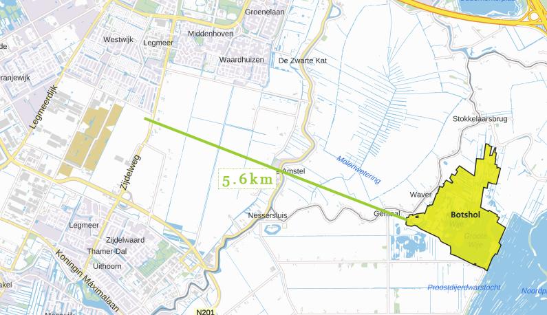 stikstofonderzoek voorbeeldplan afstand tot natura2000